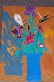 De vaas van de bloem Royalty-vrije Stock Foto