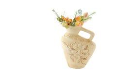 De vaas van de klei Stock Afbeelding