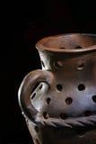 De vaas van het aardewerk Stock Foto's