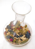 De vaas van het kristal stock afbeeldingen