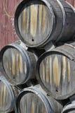 De Vaatjes van de wijn Stock Fotografie