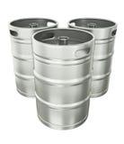 De vaatjes van het bier Stock Foto