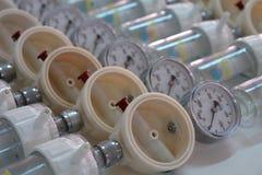 De VacuümRegelgever van het ziekenhuis Royalty-vrije Stock Afbeeldingen