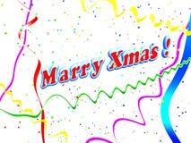 De vakantie huwt de achtergrond van Kerstmis royalty-vrije illustratie
