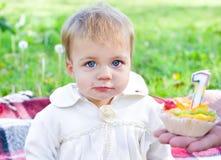 De vakantie van de baby Stock Fotografie