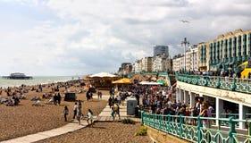 De vakantie van de bank in Brighton Stock Foto