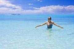 De Vakantie van de droom stock foto