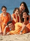 De vakantie van de familie Royalty-vrije Stock Foto's