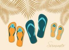 De Vakantie van de familie royalty-vrije illustratie