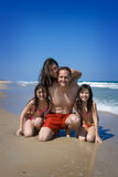 De vakantie van de familie Royalty-vrije Stock Foto