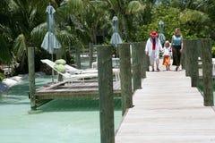De vakantie van de familie in Florida Stock Foto's