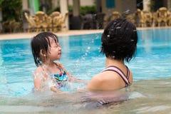 De vakantie van de familiezomer Royalty-vrije Stock Foto's