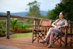 De vakantie van de safari royalty-vrije stock foto