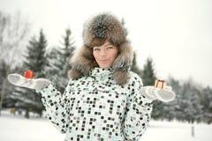 De vakantie van de winter royalty-vrije stock afbeeldingen