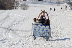 De vakantie van de winter Stock Afbeeldingen
