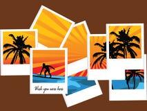 De vakantie van de zomer Stock Afbeeldingen