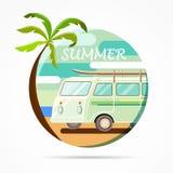 De vakantie van de zomer Stock Foto's
