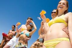 De vakantie van de zomer Stock Afbeelding