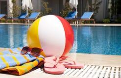 De vakantie van de zomer accessoires Royalty-vrije Stock Afbeeldingen