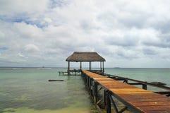 De Vakantie van de zomer in Mauritius Royalty-vrije Stock Foto