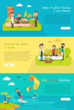 De Vakantie van het Vermaakfestivallen van Spanje Vector royalty-vrije illustratie