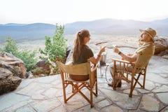 De vakantie van de luxesafari royalty-vrije stock foto's