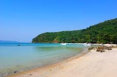 Het Strand van de vakantie van eiland Samed Stock Fotografie