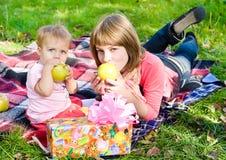 De vakantie van zusters Royalty-vrije Stock Afbeelding