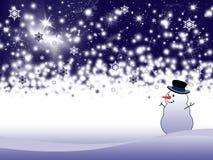 De vakantieachtergrond van de winter Royalty-vrije Stock Fotografie