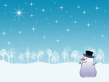 De vakantieachtergrond van de winter vector illustratie