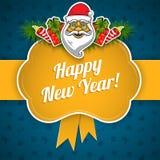 De vakantieachtergrond van het nieuwjaar Stock Afbeelding