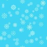 De vakantieachtergrond van Kerstmis met sneeuwvlokken De winterpatroon Royalty-vrije Stock Foto's