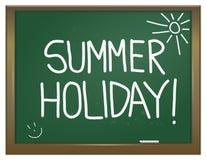 De vakantieconcept van de zomer. Royalty-vrije Stock Afbeelding