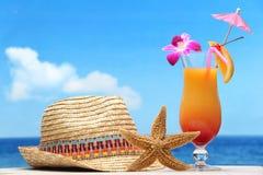 De vakantieconcept van het strand stock foto's