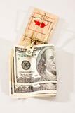 De val van het geld Stock Afbeelding