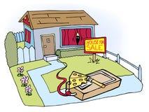 De Val van onroerende goederen vector illustratie