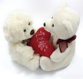 De valentijnskaart draagt Stock Afbeelding