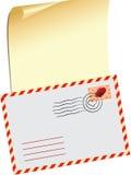 De Valentijnskaart van de brief FO Stock Fotografie