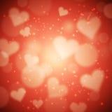 De valentijnskaart van het hart Royalty-vrije Stock Fotografie