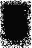 De valentijnskaartachtergrond van Grunge, vector Stock Afbeelding