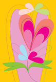 De valentijnskaartdag van de liefde Royalty-vrije Stock Foto's