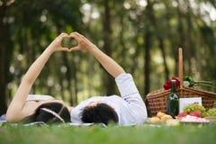 De valentijnskaarten koppelen Royalty-vrije Stock Afbeeldingen