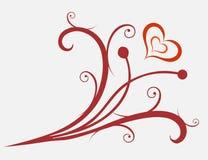 De valentijnskaarten sieren vector illustratie