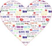 De valentijnskaarthart van de kunst Royalty-vrije Stock Afbeeldingen
