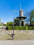De Valk, The Falcon Windmill royalty free stock image