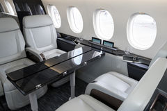 De Valk5x van bedrijfs Dassault straal Royalty-vrije Stock Foto
