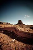 De Vallei Arizona van het monument Royalty-vrije Stock Foto