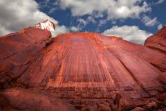 De Vallei Arizona van het monument Stock Afbeeldingen