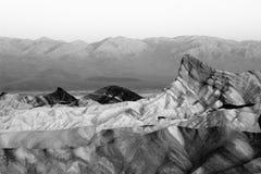 De Vallei Californië van de dood Stock Fotografie