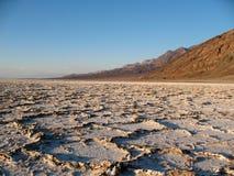 De Vallei Californië van de Dood van Badwater Royalty-vrije Stock Foto